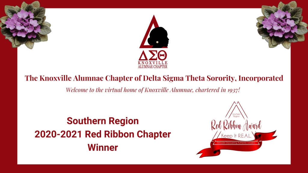 Knoxville Alumnae Delta Sigma Theta Red Ribbon